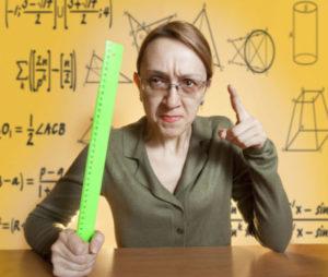 insegnanti autoritari